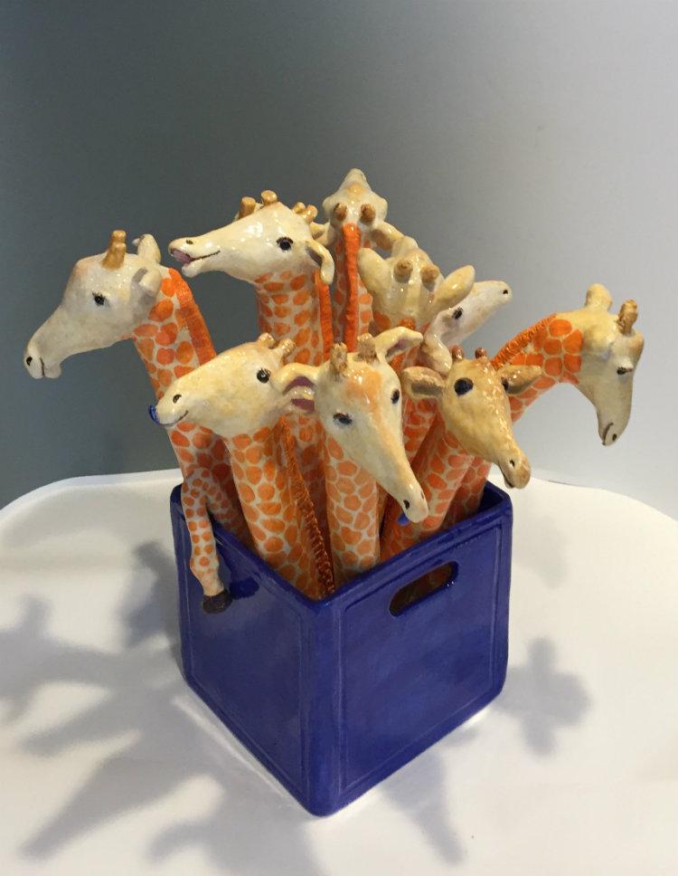 Giraffes 20x20